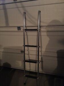 RV bunk bed ladder