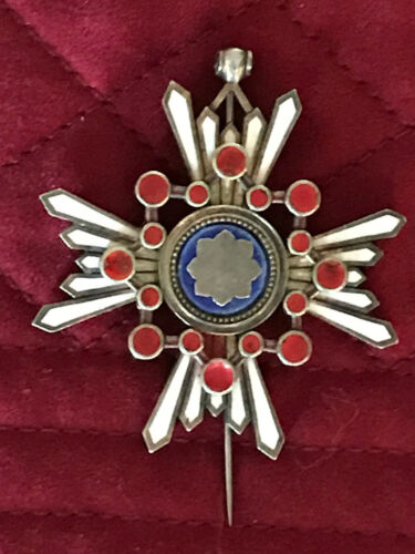 Japanese WWII Order of the Sacred Treasure 3rd Class Medal