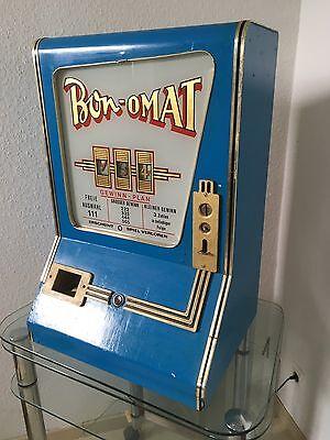 Historischer Rummel Spielautomat Bonomat Vintage Design Gerät 50er Stil Deko