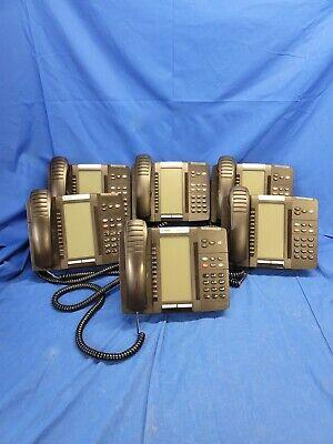 Lot Of 6 Mitel 5320e Ip Phones W Stand Handset 50006634 5426