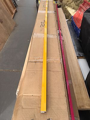 20 length bundle of yellow art core picture frame moulding