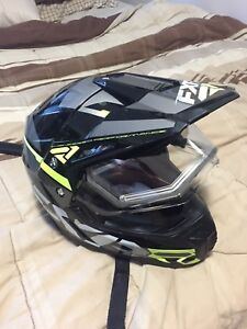 FxR heated visor helmet