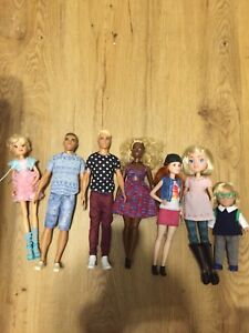 Lot of dolls (some new Barbies)