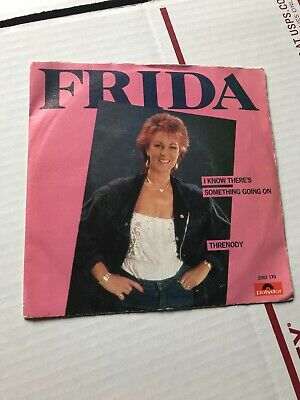 ABBA's Frida I Know There's Something Going On Threnody 45 Record Polydor