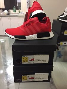 Adidas Nmd R1 black red 6.5 women's Randwick Eastern Suburbs Preview