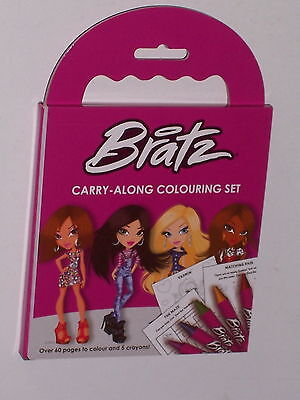 Bratz Carry Along Colouring Set