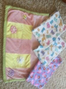 Baby blankets - like new