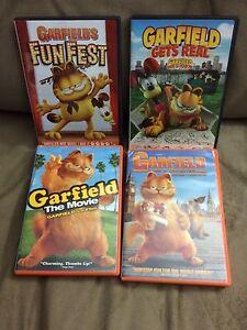 GARFIELD DVDS