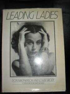 Leading Ladies Don Macpherson Louise Brody Kobal Photo Collection