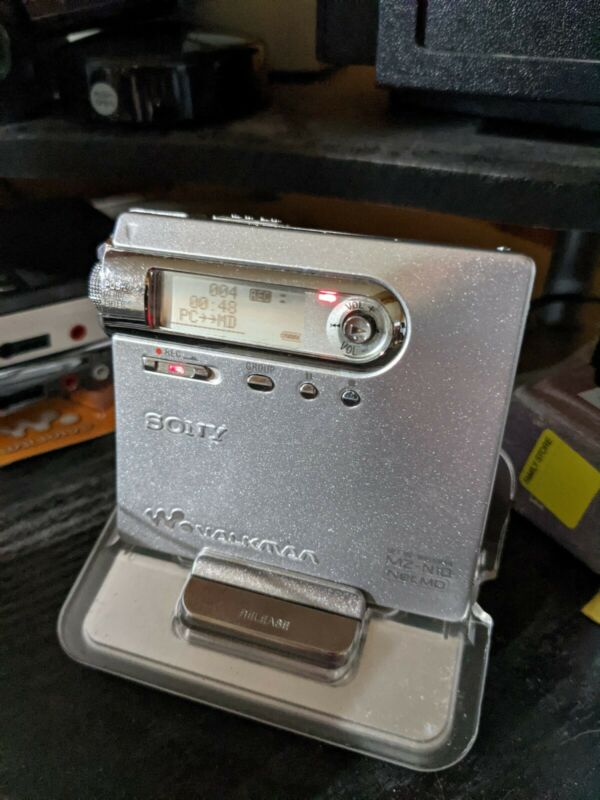 Sony MZ-N10 NetMD Walkman MiniDisc Recorder- with new  battery upgrade!