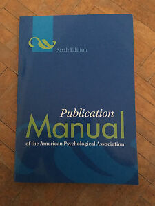 Publication Manual APA
