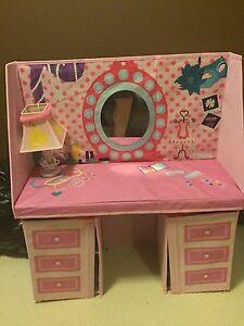 Princess play make up table.