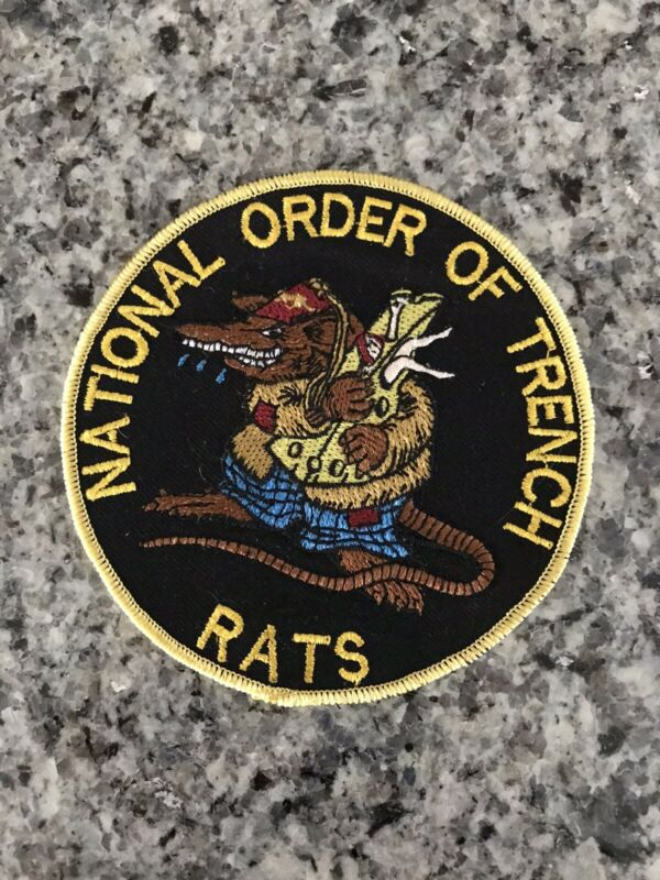 RARE National Order Of Trench Rats Large Patch