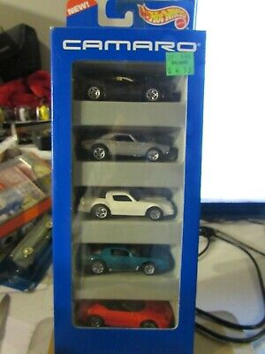 Hot Wheels Gift Pack Camaro w/ 67 zamac 5sp