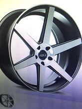 "New 22"" inch wheels 5 spoke concave machined black ML MERCEDES AUDI Rockdale Rockdale Area Preview"