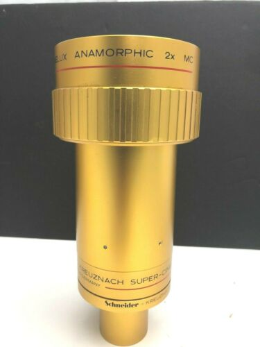 Schneider Kreuznah WA Anamorphic 2/65mm F2 Super-Cinelux 35mm Film Projector Len