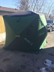 Woods arctic 3 ice fishing tent