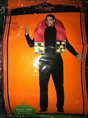 mens CHICK MAGNET HALLOWEEN COSTUME ONE SIZE ADULT 1 pc LITTLE CHICKS!