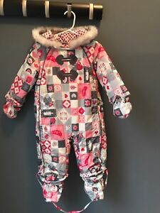 Baby girl Souris mini Snowsuit