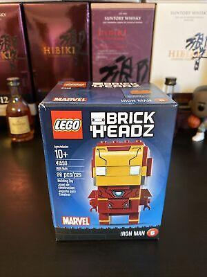Lego Brick Headz Marvel Iron Man (41590) Retired
