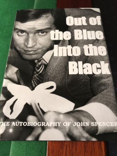 John Spencer Autobiography. Hardback Book. Signed By Author