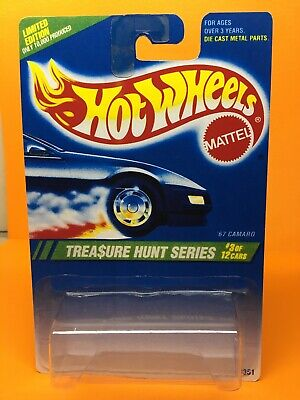 Hot Wheels 1995 treasure hunt 67 Camaro BLISTER PACK ONLY (Quality reproduction)