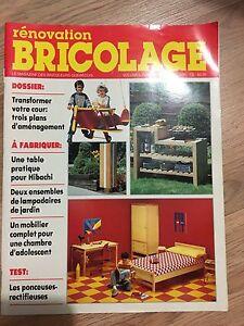 Vieilles revues de bricolage/décoration
