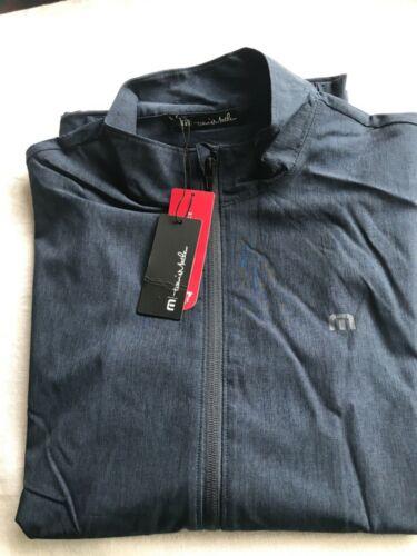 NWT TRAVIS MATHEW Road Soda 777 Prestige Men's FullZip Lightweight Jacket Large