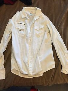 Men's Large Diesel dress shirt **only worn once** Strathcona County Edmonton Area image 1