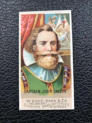 N76 Duke Great Americans Set Break John Smith