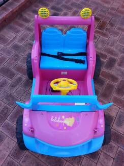 Pink Electric Ride On 12V Jeep Warwick Joondalup Area Preview