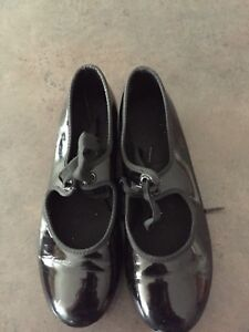 Black ABT tap shoes with ties