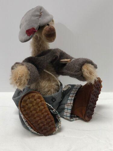 "Ositos Bären Germany by Artist Angela Schulz Mohair Bear ""Kalle"" Ltd Ed 6/10"