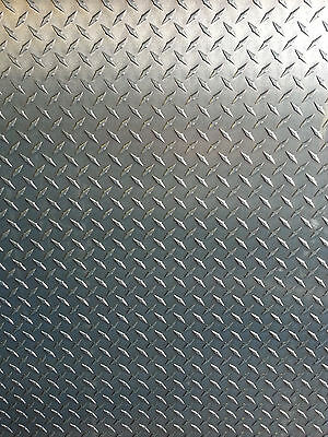 14 Aluminum Diamond Tread Plate 6061 T6 - 24 X 48