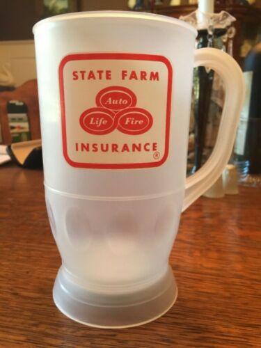 Large State Farm Insurance Plastic Mug with strobing lights