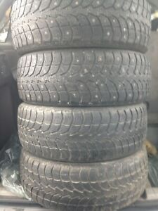 4-205/55R16 Winter tires
