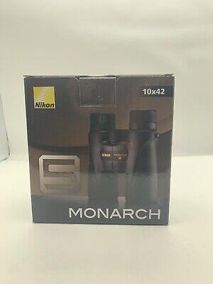 Nikon 10x42 Monarch 5 Binocular (Black) segunda mano  Embacar hacia Mexico