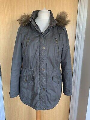 Mantaray Ladies Jacket Coat 16 Winter Casual Hood Parka School Padded