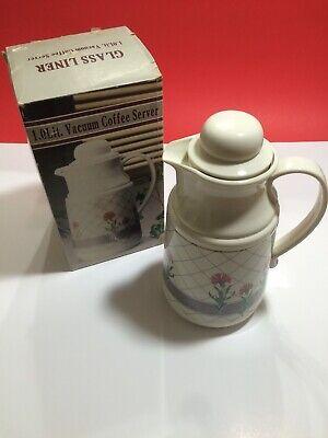 Vintage Phoenix Insulated Coffee Tea Thermal Server Vacuum Carafe w/ Box 1 Lit.