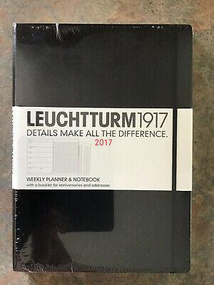 Leuchtturm 1917 Weekly Planner Notebook.can Use As A Journaldiaries.