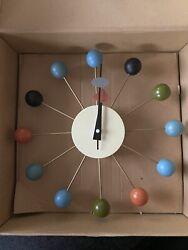 Kirch G81015Cl George Nelson Ball Clock