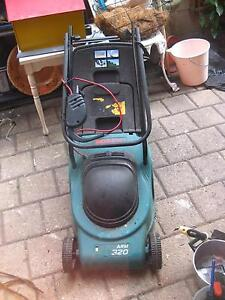 Bosch electric mower with catcher West Leederville Cambridge Area Preview
