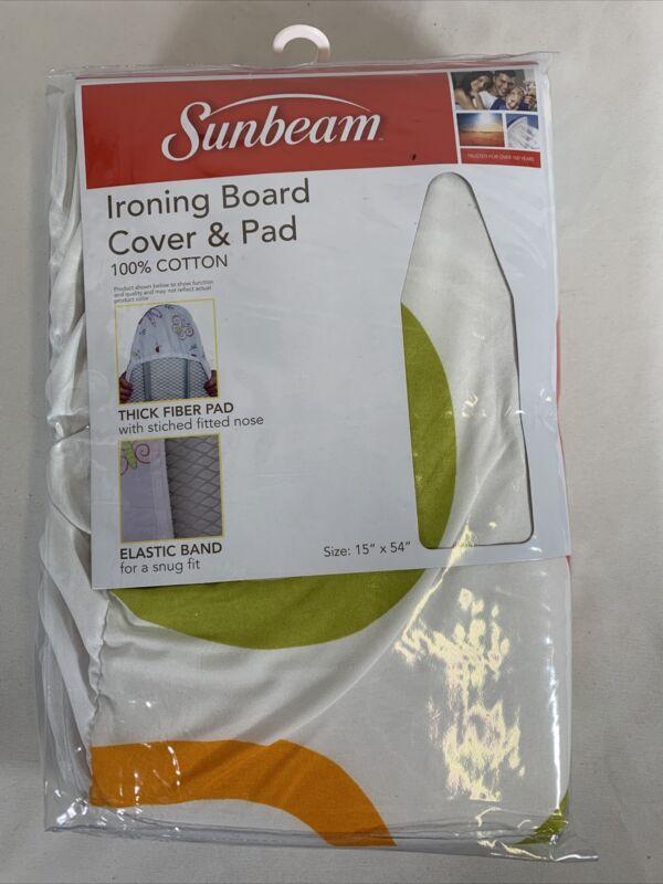 Sunbeam Ironing Board Cover & Pad NEW