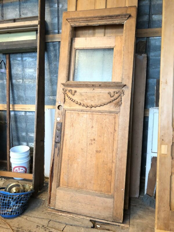 Victorian Entry Door Antique Exterior Door