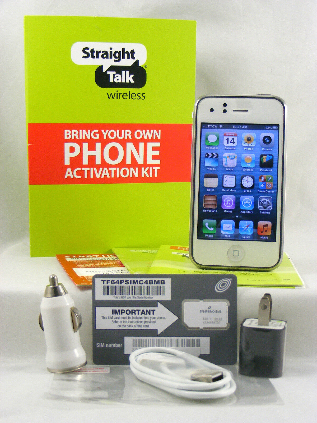 apple iphone 3g 8gb white (fac... Image 1