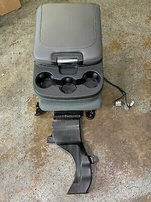 2013-2018 RAM 1500 2500 3500 Center Console Jump Seat W/ Cupholders Gray
