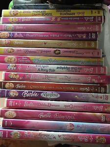 Barbie DVDs