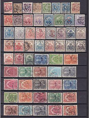 Haiti 1881/1941 - netter Posten gestempelt - 3 Bilder