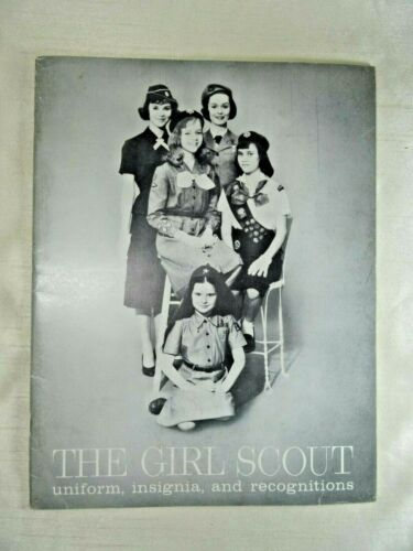The Girl Scout uniform, insignia, and recognitions catalog 1960