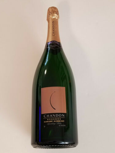 """Chandon Reserve Sparkling Wine Large Display Bottle 15-1/2"""" Tall New -No Alcohol"""